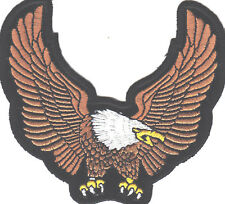 AMERICAN EAGLE UPWING-USA SYMBOL/Iron On Patch,Patriotic, Biker, Military