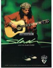 1998 GUILD D-100 Acoustic Guitar SLASH Vtg Print Ad