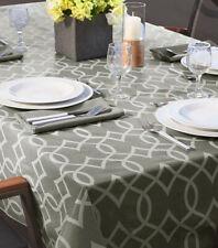 Elegant tablecloth, modern geometric pattern, durable, easy to clean,rectangular