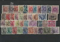 Poland USED 1921 to 1924 Stamps Ref 30513