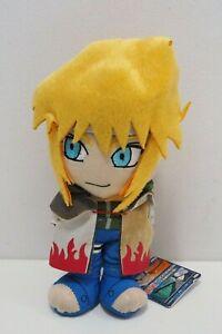 "Naruto Minato Uzumaki Banpresto 2006 USED JUNK Plush 8"" TAG Toy Doll Japan"