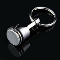 Keyfob portachiavi metallo del pistone Keychain automobile Parte del pezzo