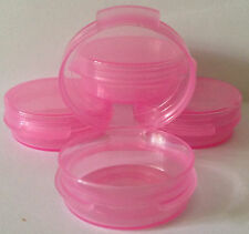 (50) 1/9 oz Lacon Sample Containers Pink for scents passion papaya posh