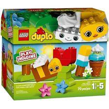 LEGO DUPLO 10817 contenitore creativo costruzioni 70 pezzi scatola rovinata lati