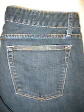 Gap Curvy Boot Stretch Womens Dark Blue Denim Jeans Size 8 R x 31.5 Mint