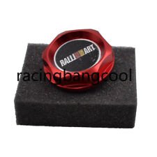 Ralliart Red Racing Engine Oil Cap JDM Oil Fuel Filler Cover Cap For Mitsubishi