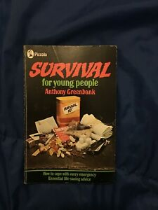 Survival for Young People (Piccolo Books) by Greenbank, Anthony Paperback Book