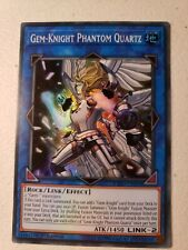 Yugioh EXFO-EN092 Gem-Knight Phantom Quartz Super Rare NM 1st Edition