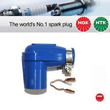 1x NGK SPARK PLUG CAP LBER 14 mm Gomma Silicone Blu