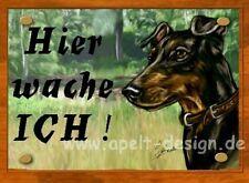 Manchester Terrier   / Türschild / Warnschild