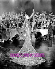 "MAE MURRAY 8X10 Lab Photo B&W 1922 ""PEACOCK ALLEY"" Elegant Gown Portrait"