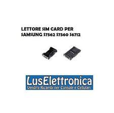 LETTORE SIM CARD PER SAMSUNG S7562 S7560 S6712 DUOS