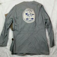 Vtg 10-X Mfg. Co. Duck Hunting Target Shooting Jacket (Size 42) Upcycled patch J