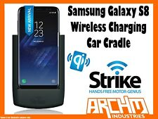 STRIKE ALPHA - SAMSUNG GALAXY S8 CAR CRADLE WIRELESS CHARGING - AUTOMATIC CHARGE