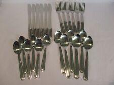 6 Settings Cutlery Set, Stainless Steel, Forks, Spoons. Tea Spoons, 24 pieces