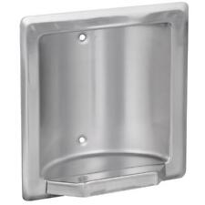 Franklin Brass Century Recessed Soap or Tumbler Holder in Bright Stainless