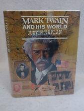 Justin Kaplan  MARK TWAIN AND HIS WORLD  Simon & Schuster  1974 HC/DJ