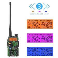 Baofeng Walkie Talkie UV-5R Dual Band VHF UHF 128CH Two Way Ham Radio Earphone