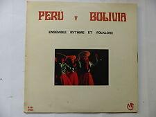 Peru y Bolivia Ensemble rythme et folklore Lusique indienne Vol 3 AS 713013