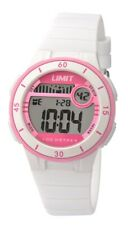 Limit Watch, Multi Function Digital, White Strap and case, New, Limit 5555.
