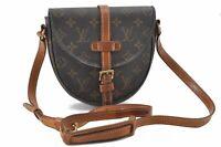 Authentic Louis Vuitton Monogram Chantilly PM Shoulder Bag M51234 LV B4016