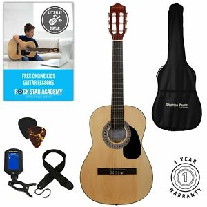 Stretton Payne Children's 3/4 Size, Nylon String Classical Guitar - Ages 7-11