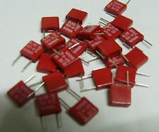 25 x Wima MKS-2 150nf 50v 5mm lead pitch polyester film capacitor MKS2B021501A00