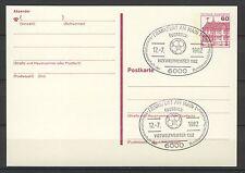 BRD / Bund GS Postkarte Sonderstempel Vizeweltmeister 1982   12.7.82