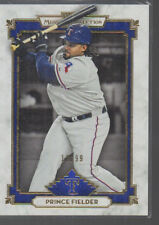 PRINCE FIELDER    2014 TOPPS MUSEUM COLLECTION BLUE PARALLEL CARD #53 /99