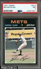 1971 Topps SETBREAK #513 Nolan Ryan New York Mets HOF PSA 7 NM