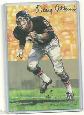 DOUG ATKINS AUTOGRAPHED SIGNED SERIES 2 GOAL LINE ART CHICAGO BEARS HOF