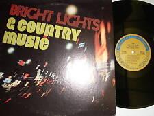 Nashville Sound-bright Lights & Country-lp-col-60861
