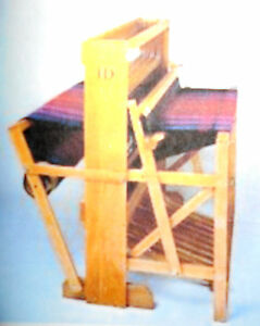 """New Harrisville 22"""" 8 Harness Floor Loom Free Shipping & 200 Heddles & tool tray"""