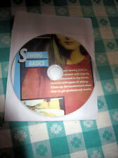 Reader's Digest Sewing Basics Instruction DVD Easy Way To Learn Machine Sewing