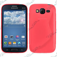 Housse Etui Coque TPU Silicone ROUGE Samsung Galaxy Star 2 Plus Advance SM-G350E