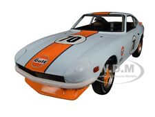 "1970 DATSUN 240Z #70 ""GULF OIL"" 1/24 DIECAST MODEL CAR BY GREENLIGHT 18302"