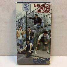 New Kids on the Block •Hangin Tough •VHS VINTAGE 1980's Donnie Wahlberg Video