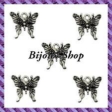 10 Perles Breloques Papillon