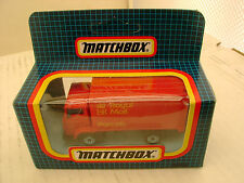 1987 MATCHBOX SUPERFAST MB72 DODGE COMMANDO DELIVERY VAN ROYAL MAIL PARCALS MIB