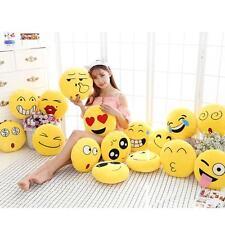 Emoji Emotion Soft Stuffed Plush Round Cushion Pillows Toy Doll Decor 10cm'