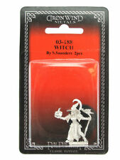 Witch #03-188 Classic Ral Partha Fantasy RPG Metal Figure