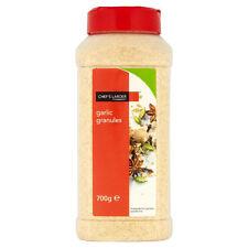 Garlic Granules 700g in Handy Tub| Quality| Chefs Larder | Ideal for any cuisine