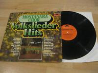 LP Montanara Chor Volkslieder Hits Das Lied der Berge  Vinyl Polydor 2459 041