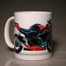 Suzuki GSXR750 (métallique rouge/orange/noir) 2010 tasse (#179)