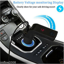 Bluetooth Car Kit Handsfree FM Transmitter Radio MP3 Player USB Charger&AUX Lot