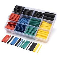 530pcs 21 Heat Shrink Tubing Tube Sleeving Wrap Cable Wire 5 Color 8 Size Case