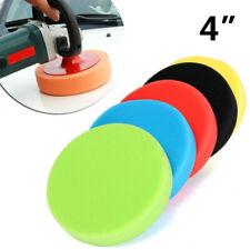5PCS 4Inch Polishing Sponge Waxing Buffing Pads Kit Set For Auto Car Polisher