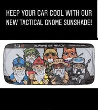 5.11 TACTICAL CAR TRUCK SUNSHADE GNOME POLICE FIRE SNIPER FOX MILITARY PATCH