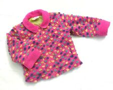 HANNA ANDERSSON 100 lined PINK POLKA DOT JACKET COAT