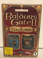 Baldur's Gate II: The Collection PC CD-ROM Game Shadow's of Amn/Throne of Bhaal
